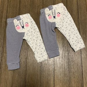 Baby girl pants Cat & Jack sz 6-9 M